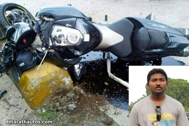 Suzuki-B-king-superbike-accident-in-Mangalore1