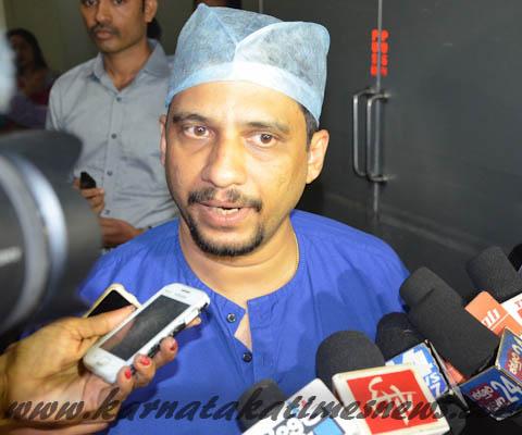 ICU Specialist Dr Sudhesh Rao
